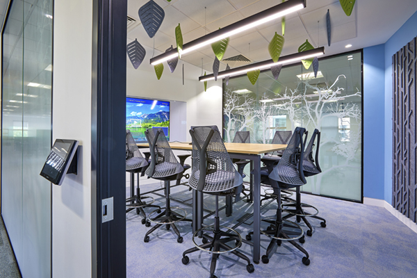 HP_hanging acoustic leaf shapes and manifestation