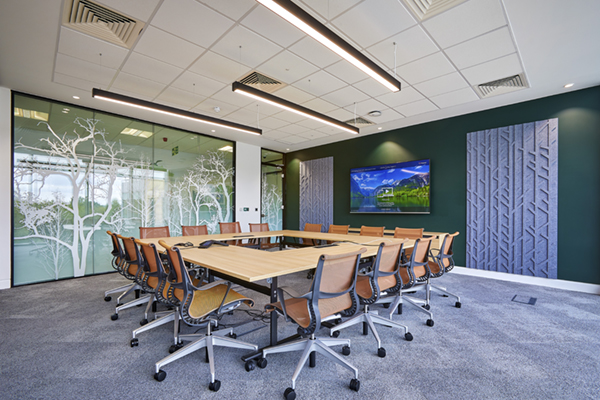 HP_manifestation and acoustic wall panels