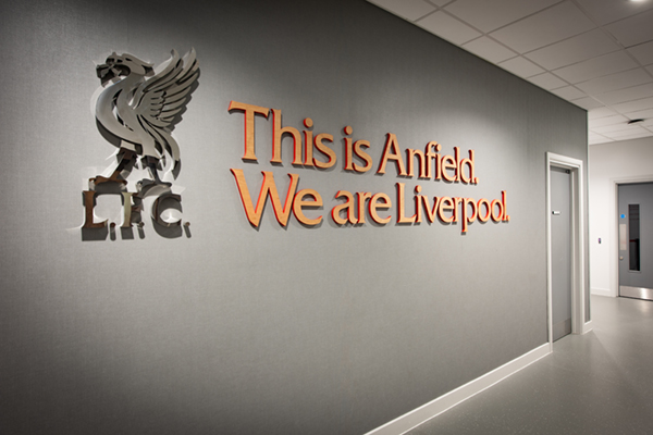 High end signage for LFC
