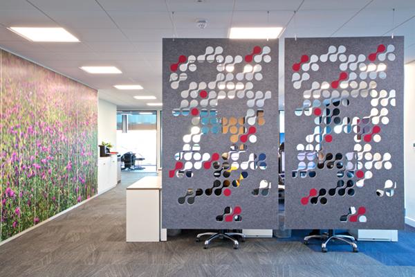 Hanging acoustic screens