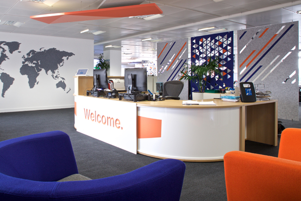 Acoustic panels and hanging screens