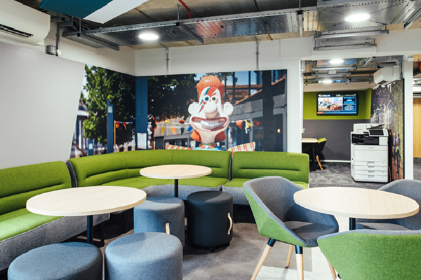Novawall Architectural Acoustic finishes, printed - Fabric Walling